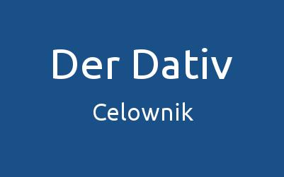 Dativ niemiecki